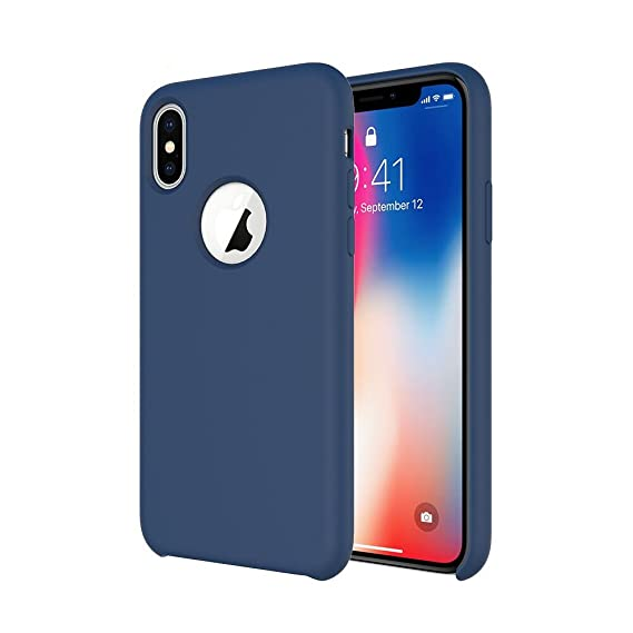 factory authentic be270 36521 iPhone Xs iPhone X Silicone Case, Soft Touch, Comfortable Grip, TIAMAT  Liquid Silicone Case with Microfiber Cloth Lining and Wireless Charging ...