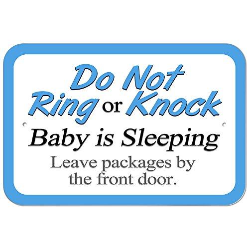 Plastic Knock Sleeping Leave Packages