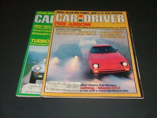 (2 Iss Car Driver Apr, Aug '79 Saab Turbo 900, 280-ZX, Turbo Car Vs Turbo Bike)