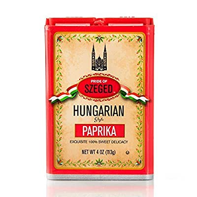 Pride Of Szeged Paprika Hungarian Sweet, 4 Ounce from Everready First Aid