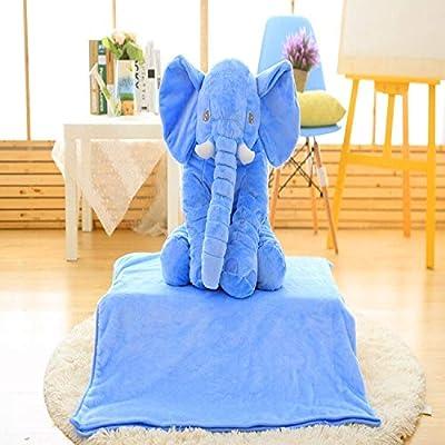 Amazon.com: EXTOY - Manta de felpa con diseño de elefante ...