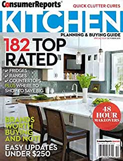 Consumer Reports Kitchen Planning Buying Guide October 2015