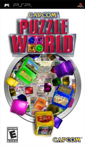 Capcom Puzzle World - Sony PSP