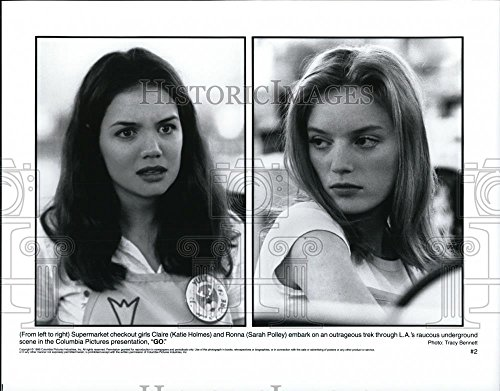 1999 Press Photo Katie Holmes and Sara Polley in