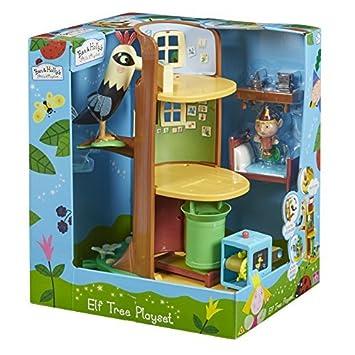 Amazon.com: Ben y Holly Elf Árbol Playset por Ben & Holly ...