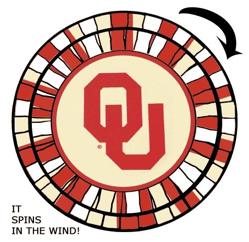 Oklahoma Sooners - Wind Spinners ()