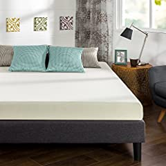Rest easy with the memory foam support of the Sleep Master Memory Foam mattress from Zinus, pioneers in comfort innovation. The 6 Inch Memory Foam Mattress provides conforming comfort with a memory foam layer that molds to the natural shape o...