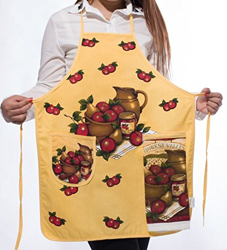 napkins assorted colors Korean Cute Floral Print Women Sleeveless Aprons Kitchen Anti-oil Cooking Apron with Hand Towel napkins cloth - Cotton Belt Embossed