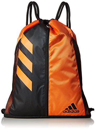 adidas Team Issue Sackpack, One Size, Orange/Black