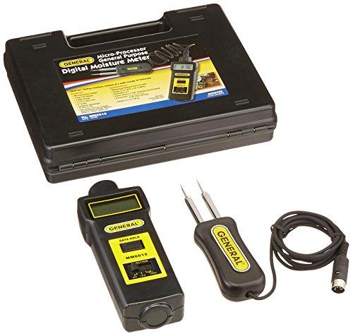 General Tools MM6012 Digital Microprocessor Moisture Meter Paper Moisture Meter