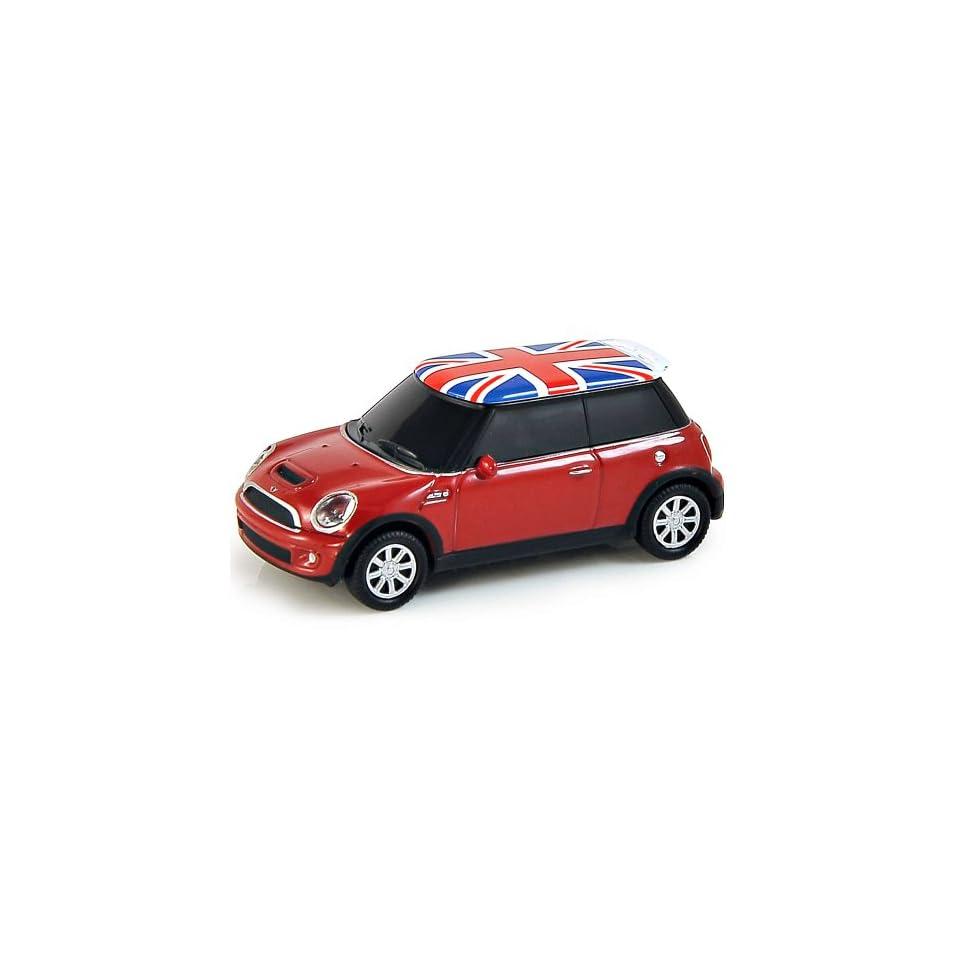 BMW Mini Cooper Computer USB Memory Stick 4Gb   Red