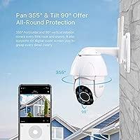 Camaras De Vigilancia 1080P Ptz IP Cámara WiFi Domo De ...