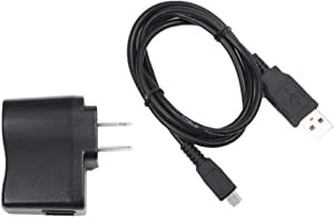 NiceTQ Home Wall AC Power Charger + USB Data Charging Cable for HP Prime Graphing Calculator