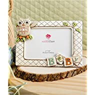 baby owl picture frame horizontal 3d 8 x 6 holds