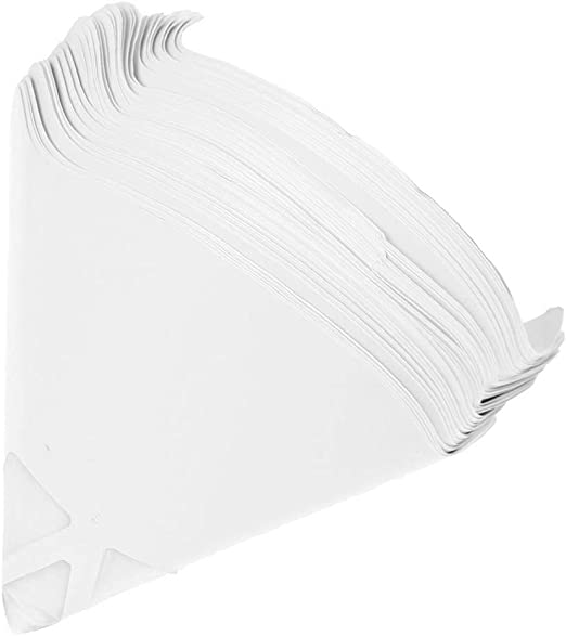 """STRAINER /""""FINE/"""" BOX OF 100 PAINT FILTERS DISPOSABLE MINI PAPER CONE FILTER"""