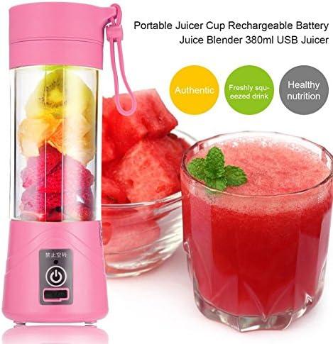 Compra TOOGOO 380ml Vaso botella de licuadora recargable USB ...