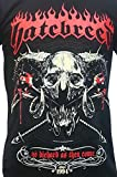 Hatebreed As Diehard As They Come American Metalcore Band T Shirt Black L
