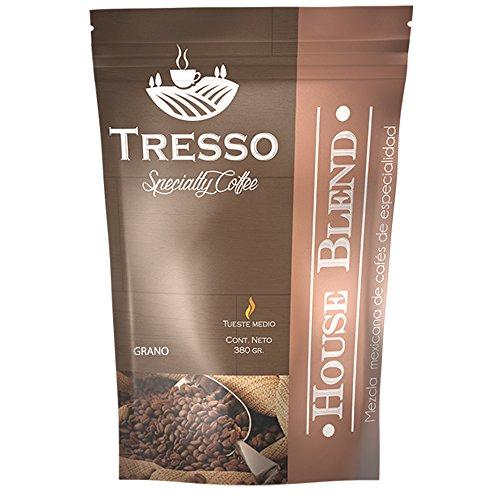 Tresso - Café House Blend de Especialidad, 380 g en Grano