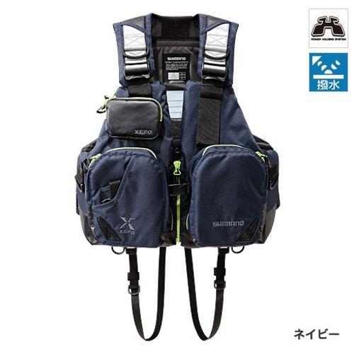 シマノ(SHIMANO) XEFO フローティングベスト タックルフロートジャケット (ベーシック) ネイビー VF-272N フリーサイズの商品画像