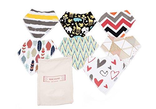Stylish Baby Bandana Drool Bibs product image