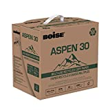 BOISE ASPEN 30 SPLOX MULTI-USE RECYCLED COPY PAPER, 8 1/2'' x 11'', Letter, 92 Bright White, 20 lb., 2500 Sheets/Carton, 80 Cartons/Pallet