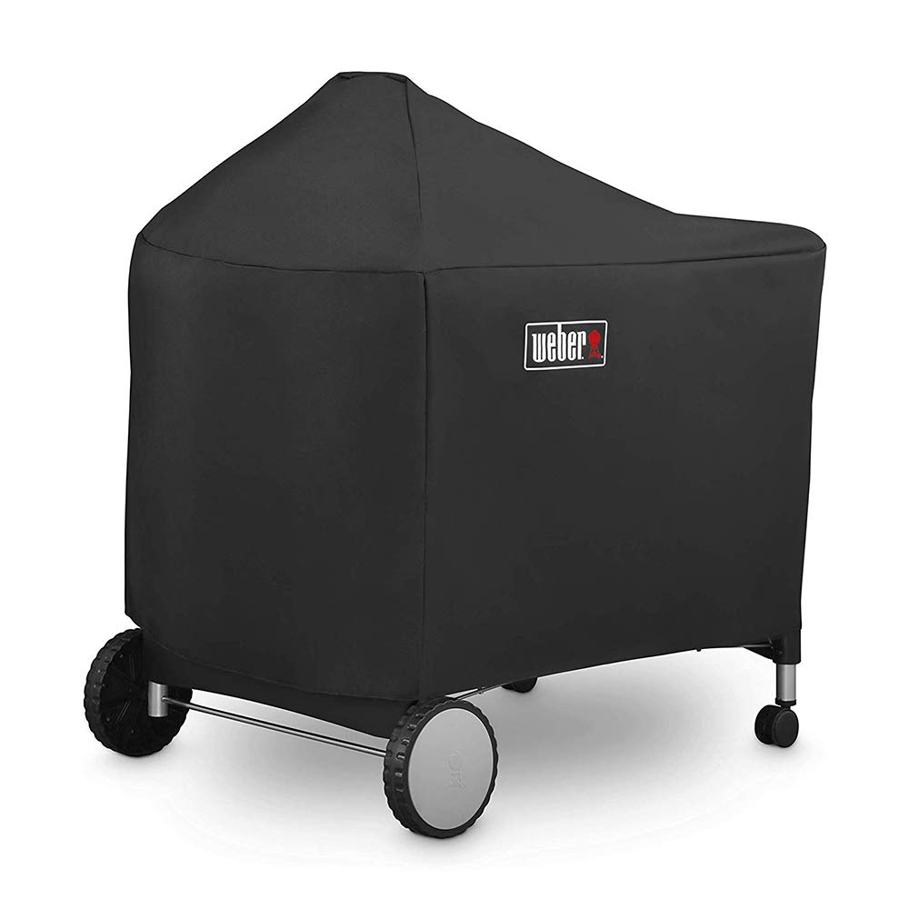 Weber 7152 | 7455 Grill Cover for Performer Premium and Deluxe, 22 Inch for Weber Performer Charcoal Grills(48.5 X 25.5 X 39.8 inches)
