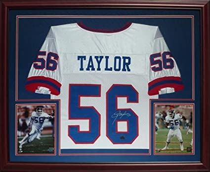 promo code a819a e1059 Lawrence Taylor Autographed New York Giants (White #56 ...