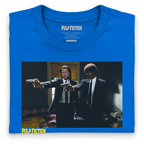 Official Pulp Fiction - Furious Anger Camiseta, Para mujer Azul real