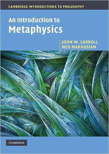 An introduction to metaphysics cambridge introductions to an introduction to metaphysics cambridge introductions to philosophy john w carroll ned markosian 9780521533683 amazon books fandeluxe Choice Image