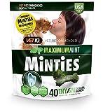 Cheap Vetiq Minties Dog Dental Bone Treats, Dental Treats For Dogs, Tiny/Small, 16Oz