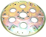 PRW 1835001 SFI-Rated Internal Balance 168 Teeth Chromoly Steel Flexplate for Chevy 1957-85, 90 Early, V6, Gold Irridate