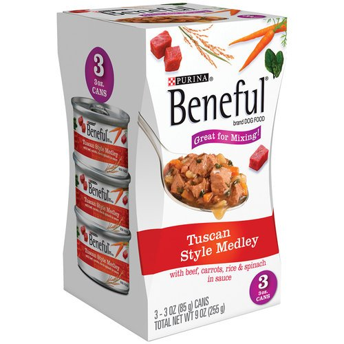 Beneful Tuscan Style Medley Canned Dog Food 9 OZ (Pack of 24) by Beneful