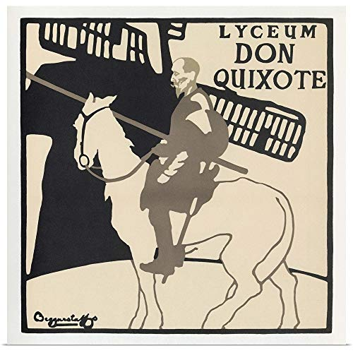 GREATBIGCANVAS Poster Print Entitled Don Quixote, 1896 by 10