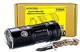 *NEW* Nitecore TM06S 4x CREE XM-L2 U3 LED 4000 Lumens Compact Lightweight Flashlight w/ Tac Force TF-498BC Pocket Knife