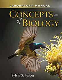 amazon com lab manual for concepts of biology 9780077511586 rh amazon com Inquiry into Life Sylvia Mader Biology 11th Edition