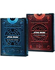 Star Wars Playing Cards 2 Pack Decks | Light Side Blue Deck | Dark Side Red Deck by Theory11 | Skywalker Saga Choose a Side