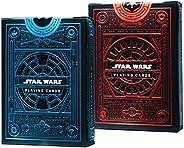 Star Wars Playing Cards 2 Pack Decks   Light Side Blue Deck   Dark Side Red Deck by Theory11   Skywalker Saga
