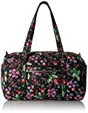 Vera Bradley Women's Iconic Small Duffel, Winter Berry