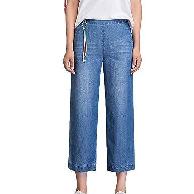 San Francisco aed84 d02aa Pantalón Ancho para Mujer Pantalones Casuales Pantalones ...