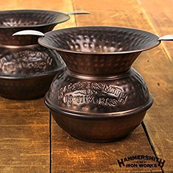 Hammersmith Iron Works Spittoon Ashtray - Antique Copper