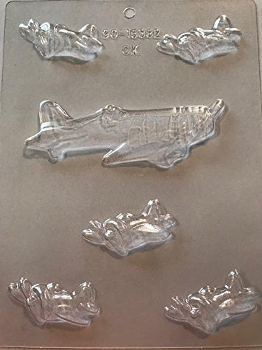 Airplanes Chocolate Candy Mold by CK Products