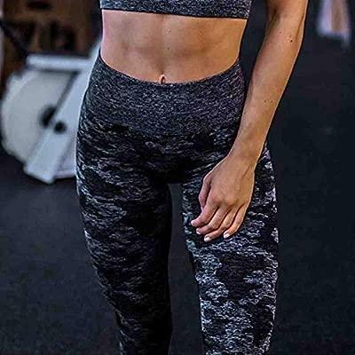 ZIJS Pantalon de Yoga Camo Seamless Gym Leggings Pour Femmes ...