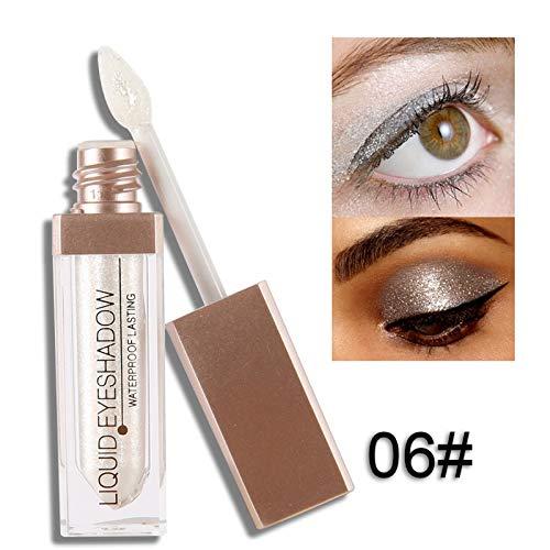 Liquid Eyeshadow Makeup Eye Shadow Halloween Limited Shimmer Metallic Edition Pearl Light Shiny Maquiagem Cosmetics J6