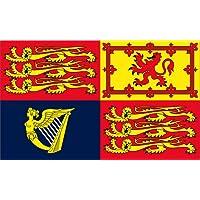 5Ft X 3Ft 5'X3' Flag Uk Royal Standard