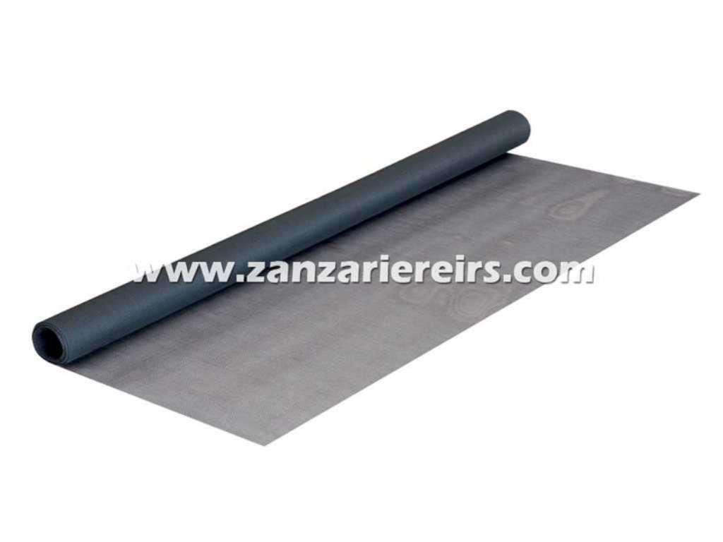 Misura 80x250 cm IRIS IRS Clarissa Net Fibra Zanzariera avvolgibile Grigio