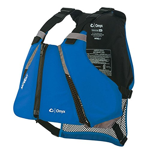 Onyx MoveVent Curve Paddle Sports Life Vest, X-Small/Small, Blue