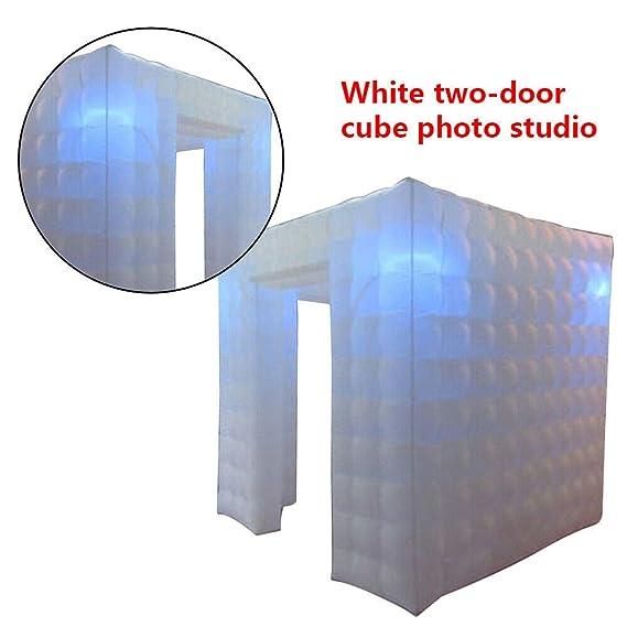 SENDERPICK - Carpa Hinchable para Cabina de Fotos, 2 Puertas ...