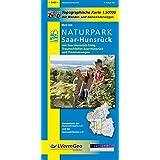Naturpark Saar-Hunsrück, Blatt Ost, mit Saar-Hunsrück-Steig, Traumschleifen Saar-Hunsrück und Premiumwegen (Saarland): Naturparkkarte 1:50000 mit ... Rheinland-Pfalz 1:50000 /1:100000)