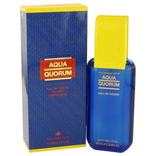 AQUA QUORUM by Antonio Puig EDT SPRAY 3.4 OZ for MEN