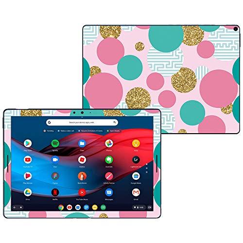 Golden Slate - MightySkins Skin Compatible with Google Pixel Slate 12.3